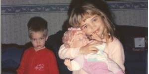 Mallory loved her baby dolls.