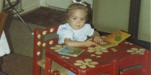 Mallory began her lifelong love of books at a young age.  She began to memorize entire books of nursery rhymes just after her second birthday.